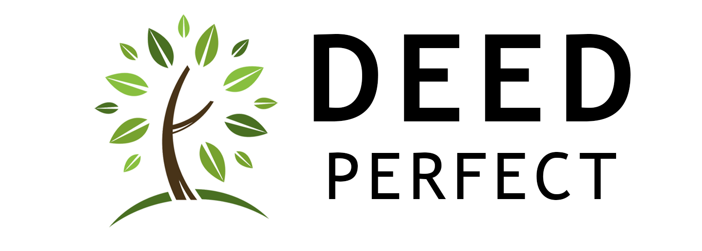 DeedPerfect Logo with tree